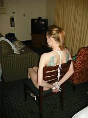 Skinny crack slut