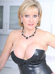 Busty ex wife fondling