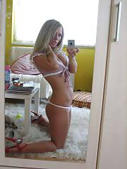 Sexy and kinky blond