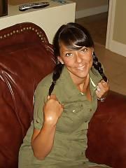 My dark haired wifey