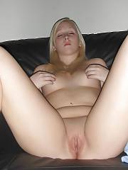 Lovely amateur blondie