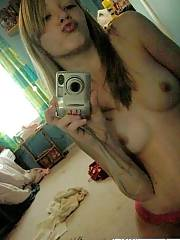 Young amateur chick