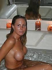Sperm on her