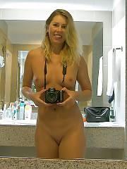 Horny blondie nymph