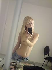 Excellent looking light haired loves selfshot.
