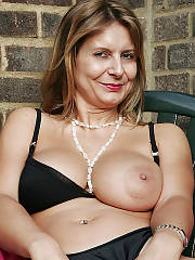 Boobed mother sandy