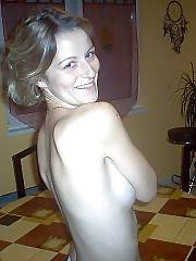 Hot skinny mom banged