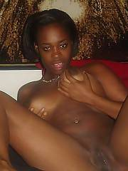 Naughty ebony exgirlfriend