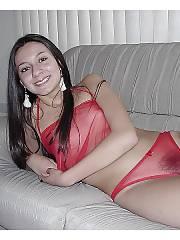 Sexy brunette ex