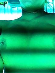 Tanning bed selfies