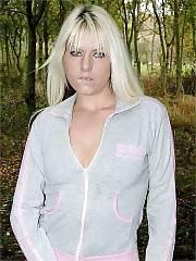 Sexy blond babe
