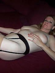Blonde nasty mature kathie sucks penis