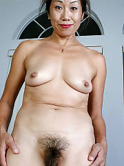 Sexy asian hairy