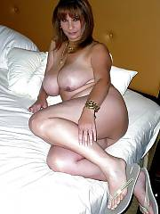 Mature busty mother