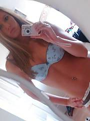 Sexy amateur blond