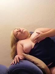 Chubby slut ramona from oberhausen posing