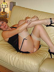 Hot blondie mother with nice titties