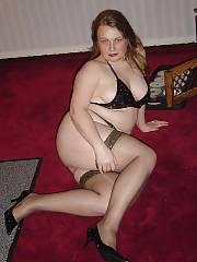 Curvy butt MILF