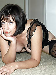Dark haired MILF