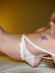Hot blonde mother