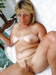 Swarthy mature blonde