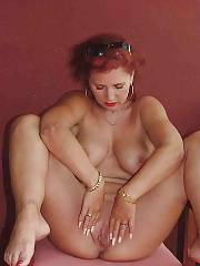 Sexy redheaded mature