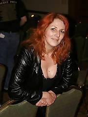 Mature red-haired