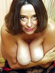 Boobed mature mother