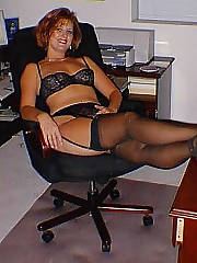 Hot MILF in lingerie
