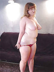Big curvy mother pleasuring