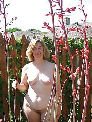 Hot sexy mom undresses