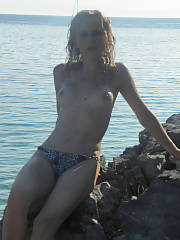 My girl julia nude on our last vacation - we was so horny the whole trip...it might also be due to the fact that she was hammered the whole time