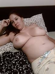 Julie b and her huge jugs and even fatter nipples.  likes to have those beasts penetrated and cummed on