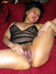 Mature chinese whore...asian skank jessie spreads her cum-soaked slut holes and begs for cock