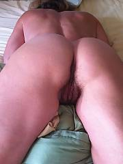 Unshaved muff - this girlie has the nicest pleasure button and perfect amount of muff.  love going down on her and mucking that clam for time