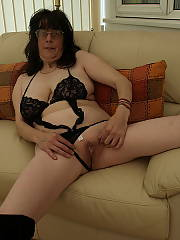 Carole 44 year old relaxing at home - not bad for her age.  prefers anal sex over anything else.  no foreplay needed either