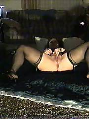 She enjoys being dped - some pis of this old lady down the hall from my apartment who enjoys to come by when shes all drunk and nasty for a little gang fuck at my place