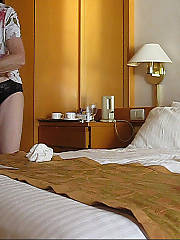 Granny caught unawares with a hidden camera, here are some stills