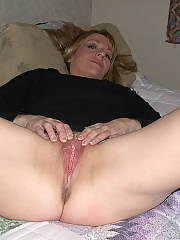 Ideal firm mom breasts