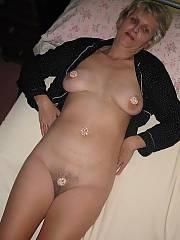 Sexy grandma showing