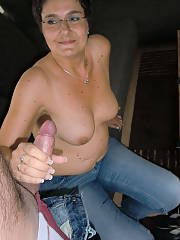Curvy german anna - shes a grandma and a bitch both rolled into one.  when the house is empty my penis inside her and she is naked