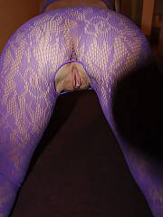 My sexy wifey in a swimsuit bent over and exposing off her beautiful yummy vagina.  she loves to have her clam mucked...!