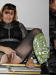 Helen is a elegant MILF of 45 years, during the day this mature plump slut as so prim and proper but is a complete whore