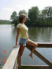 Mamma being naughty out at the lake, guess she went for a walk with her hubby only, kids cant watch that