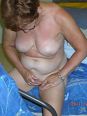 Old naughty MILF