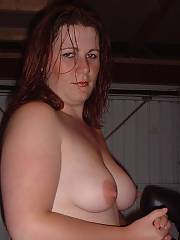Bbw slut undresses down and begs for cock, she looks finer with the outfits on frankly