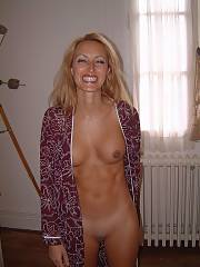 This tight light haired MILF shows that being 40  only makes you more naughty & in touch with your body.