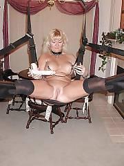 Hot blond mature