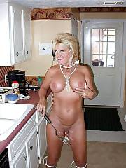 Blondie busty granny