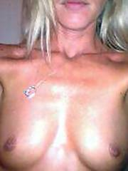 Blond mother